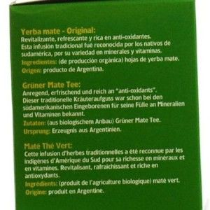 Che Mate Organic Green Mate 20 Teabags (Pack of 5, Total 100 Teabags)
