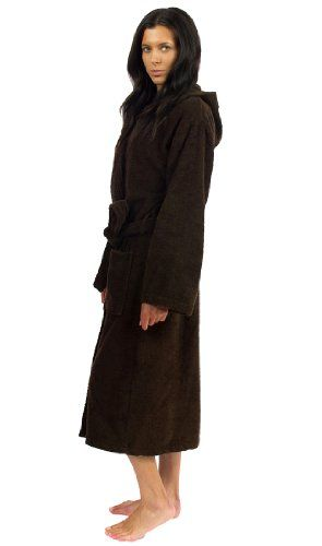 TowelSelections Hooded Bathrobe - 100% Turkish Cotton, Hooded Terry Cloth Robe for Women and Men, Made in Turkey $59.95