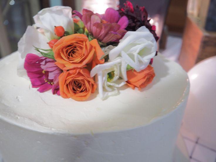 Charlotte's Wedding Cake by Mrs Walker's Tea Trolley