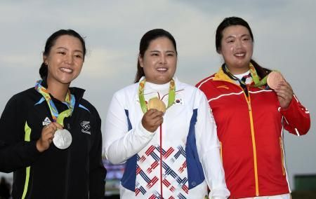 アジア系が表彰台独占したオリンピック女子ゴルフ