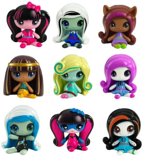 Monster High Minis (CASE of 36) PRE-ORDER only Frankie Stein I wanted