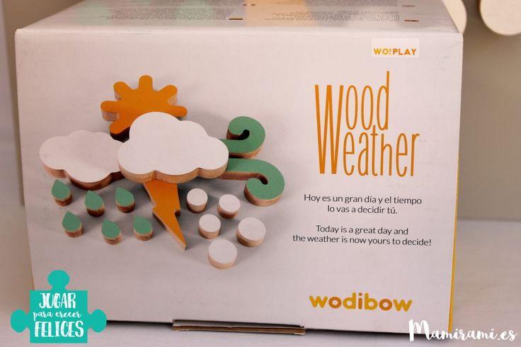 Woodweather ¿Qué tiempo hará mañana? ¡Tu hijo decidide!