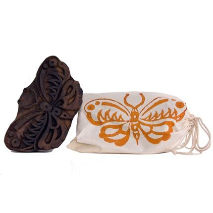 Hand Carved Wood Block Stamp - Butterfly: Butterfly 16 00, Butterflies, Hands, Lithographs Etchings, Wood Blocks, Stamps, Carved Wood