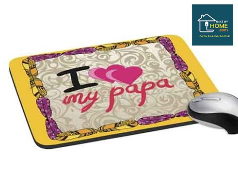 Digitally Printed Anti Skid #MousePad. A Beautiful #gift for your #father
