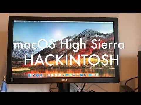 3) macOS High Sierra Hackintosh Guide: USB Install + Clover