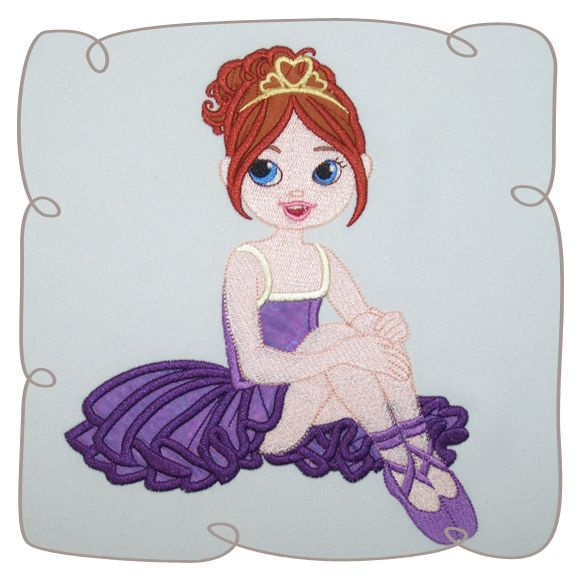 Nikita Ballerina 7: Embroidershoppe
