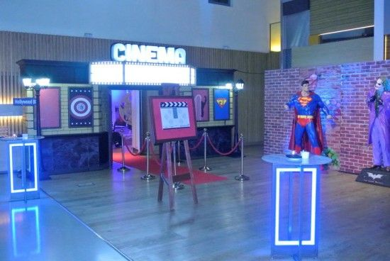 Life-size Superman 3D | Superhero Theme Party | Superhero Party | Event Prop Hire