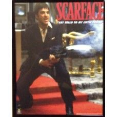 "CLEARANCE Scarface Framed Picture (S3) 8""  x 10"" CLEARANCE Scarface Framed Picture (S3) 8"" x 10"" - can be hung"