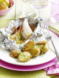 Recept papillot met kip en groenten