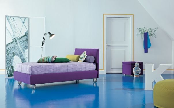 Letto Design Singolo Dylan