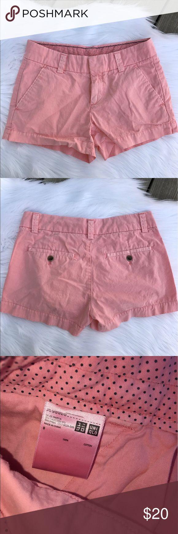 Uniqlo Shorts 100% cotton - light pink Uniqlo Shorts
