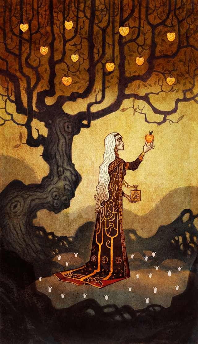 Norse Gods byJohan Egerkrans - Imgur