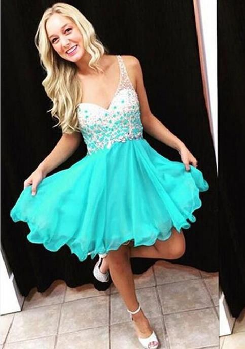 one shoulder homecoming dresses, turquoise homecoming dresses , junior homecoming dresses, cocktail dress, short prom dress, 271070 sold by LoverDresses. Shop more products from LoverDresses on Storenvy, the home of independent small businesses all over the world.