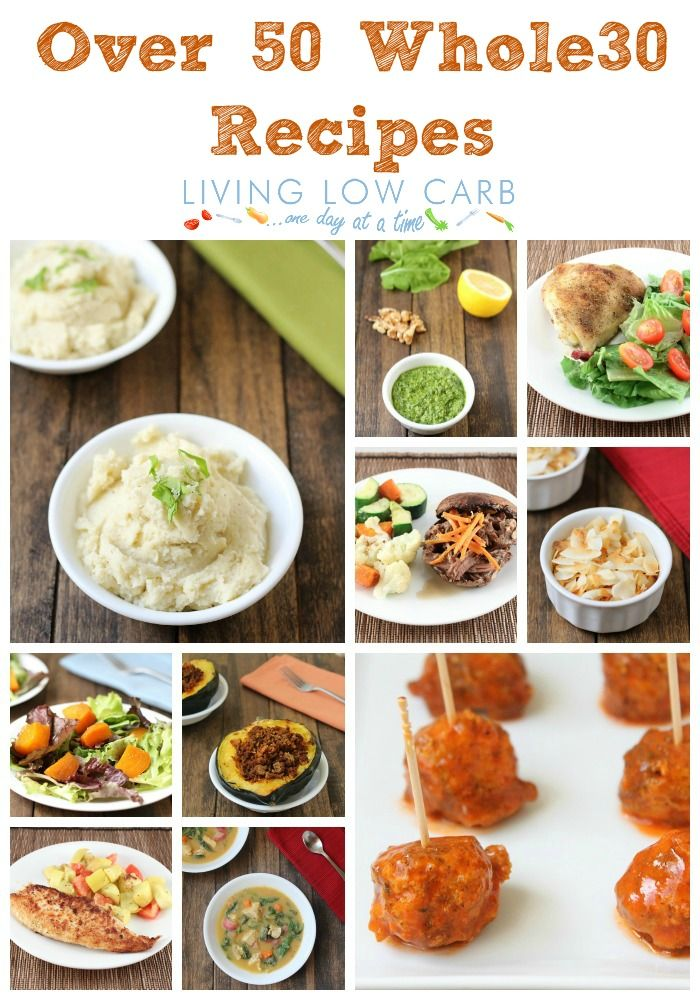 Over 50 #Whole30 friendly recipes (most of them are #21DSD friendly too)