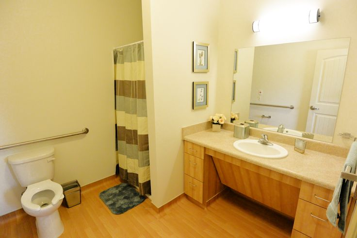 Handicap accessible bathrooms for Bathroom remodeling fayetteville nc