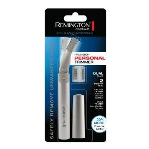 Remington MPT-3600 Battery Operated Dual Blade Pen Trimmer with Titanium Coated Blades, Grey by Remington. $9.97. Hypo-allergenic blades; won?t irritate the skin. Fine detail trimmer; For nose, ear and fine lines. Two position head allows for ultimate versatility and precision. Includes two length guide comb. 2 titanium-coated precision blades; for longer-lasting, durable performance. Take this compact, battery operated Remington trimmer with you wherever you go. It's...