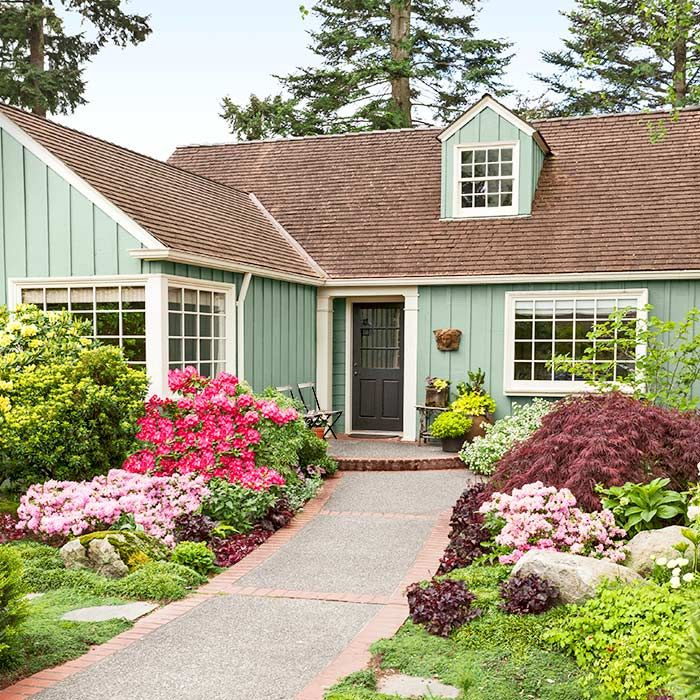 39 Pretty Small Garden Ideas: Front Yard Decor, Lawn, Garden