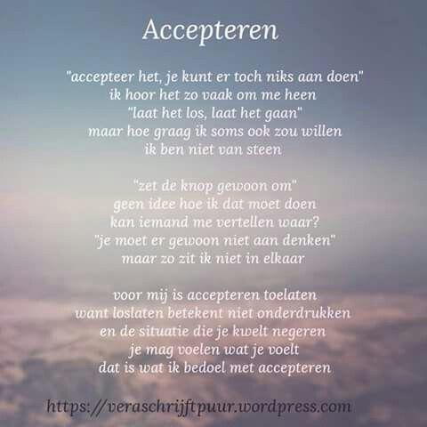 Accepteren ...
