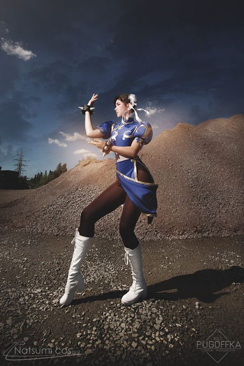 Chun-Li from Street Fighter Cosplay http://geekxgirls.com/article.php?ID=9599