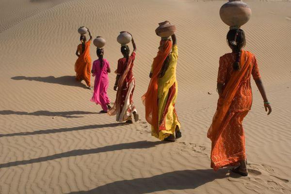 Desert Crossing, Rajasthan, India  Photographer Catherine Karnow