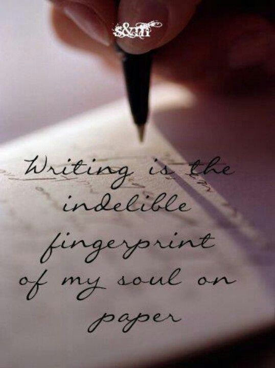 My love for writing