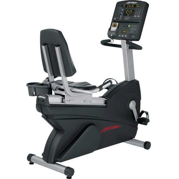 Certified Used Integrity Recumbent Exercise Bike Life Fitness Store Recumbent Bike Workout Biking Workout No Equipment Workout