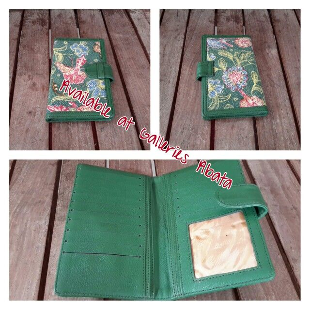 Wallet in Biantjoe Vintage