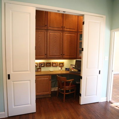 Home Office Projects - traditional - home office - austin - Acme Doors