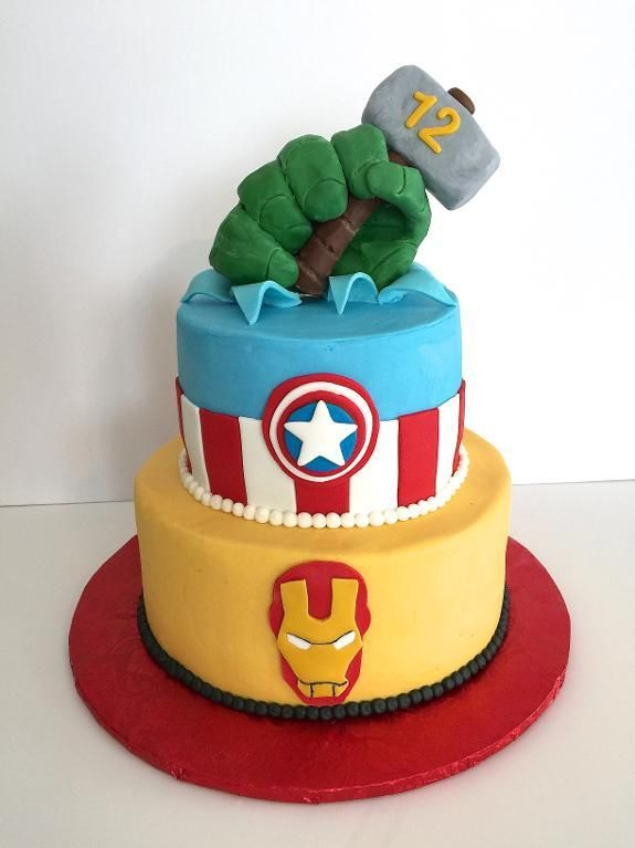 The 25 best Avenger cake ideas on Pinterest Marvel cake Marvel