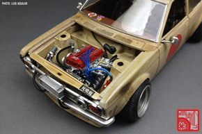 Custom Plastic Model Cars | ART CORNER: The custom 1:24 models of Luis Aguilar