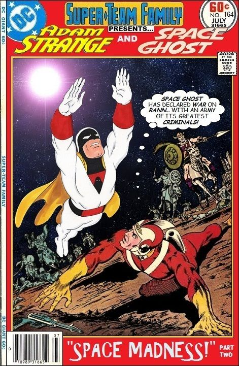 Super-Team Family: The Lost Issues!: Adam Strange and Space Ghost (Part Two)