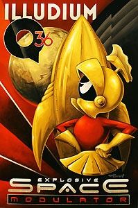 Marvin The Martian in Gold!  ...follow Marvin at http://marvin-martian.weebly.com #gold #precious #greatvalue