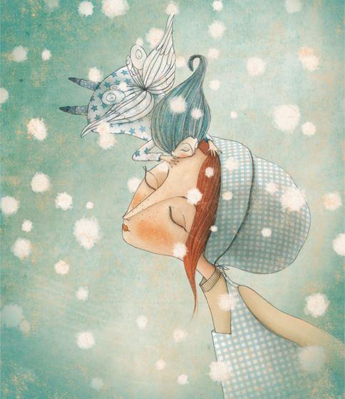 "Manuela Adreani, ""Wizard of Oz"" illustration"