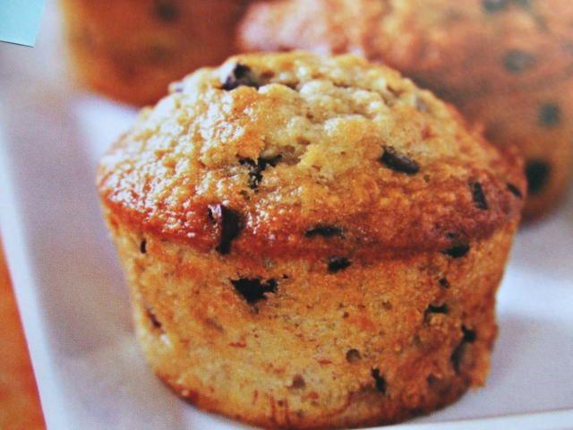 Muffins de aceitunas negras y parmesano