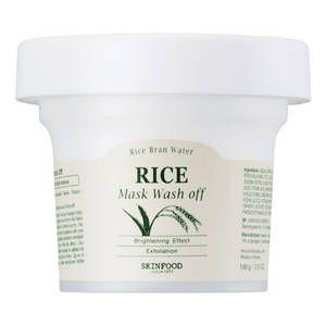 Skinfood-Rice Mask Wash Off - Masque Visage