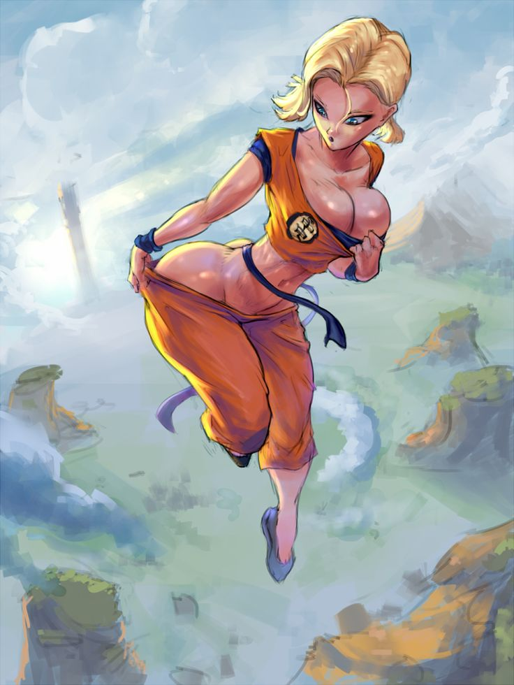 dragon ball z naked girls naked