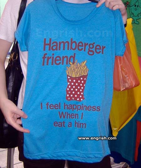 Best Asian Shirts Images On Pinterest Breakfast Brother And - Hilariously translated asian shirts