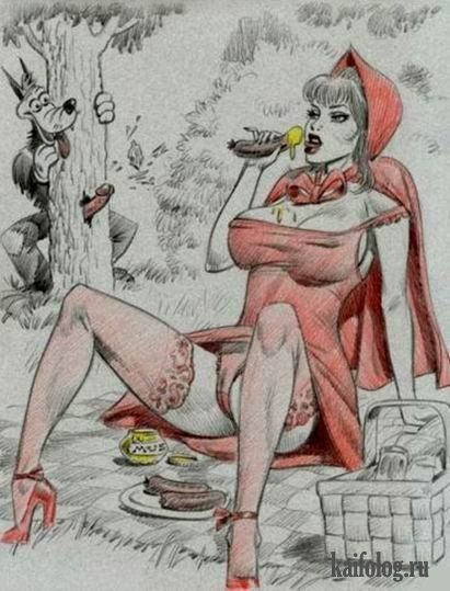 Adult erotic cartoon