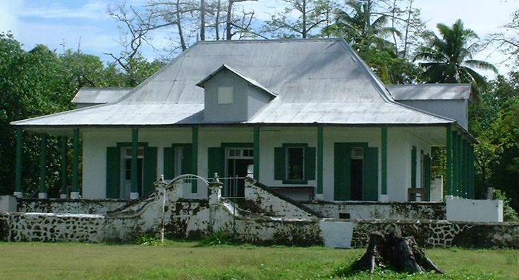 Diego Garcia Old Plantation main house Ruins 2011. It was in bad shape back when I was there. I have some older pictures of the area.