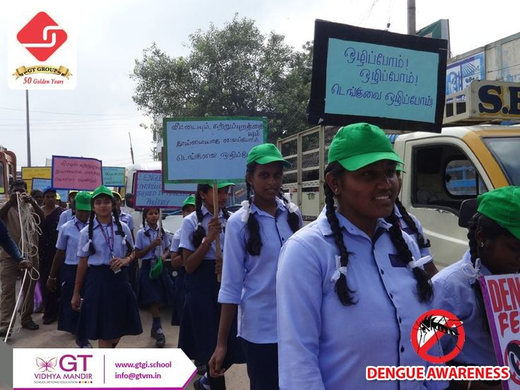 Students of GTVM continued dengue awareness rally for the second day at Thamaraipakkam junction. Students gathered and raised slogans of Dengue preventive methods and cleanliness which drew the attention of many people.  #Dengueawareness #dengue #awareness #Campaign #GTVM #Chennai #Rally #Healthtips #health #Slogan #hygiene #cleanliness #Student #school #educate