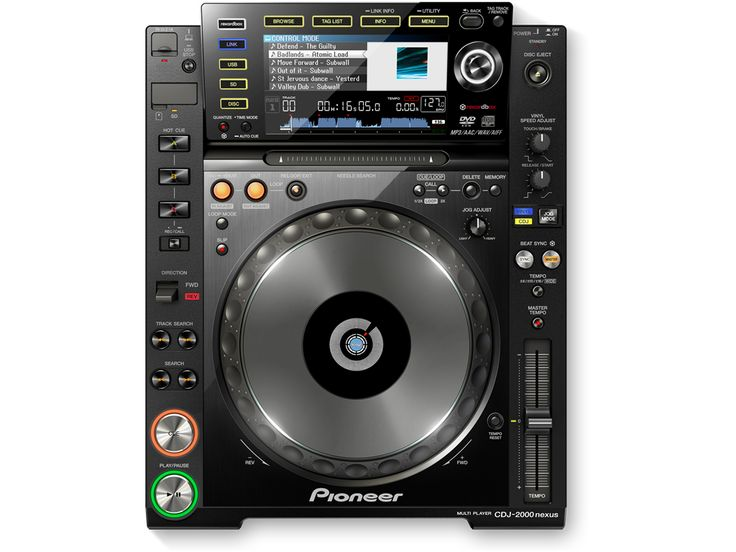 @pioneerdjglobal CDJ-2000NXS main player. #DJ #Pioneer