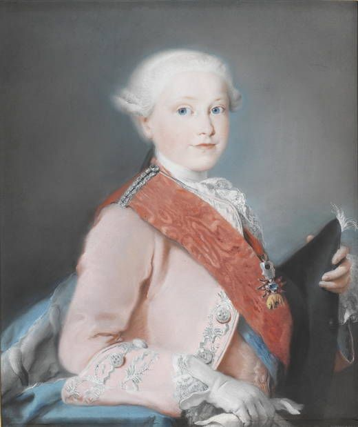 Lorenzo Tiepolo, El infante don Gabriel de Borbón, 1763, Pastello, Museo del Prado, Madrid