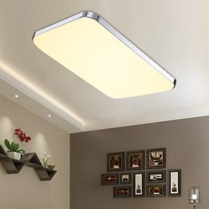 Details Zu LED Deckenlampe Wandlampe Badleuchte Kche Deckenleuchte Warmweiss Wohnzimmer 48W
