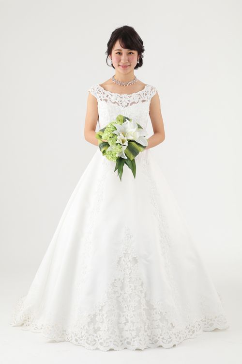 ウェディングドレス lnis 122152 ウェディングドレスのレンタルなら大阪ピノエローザへ