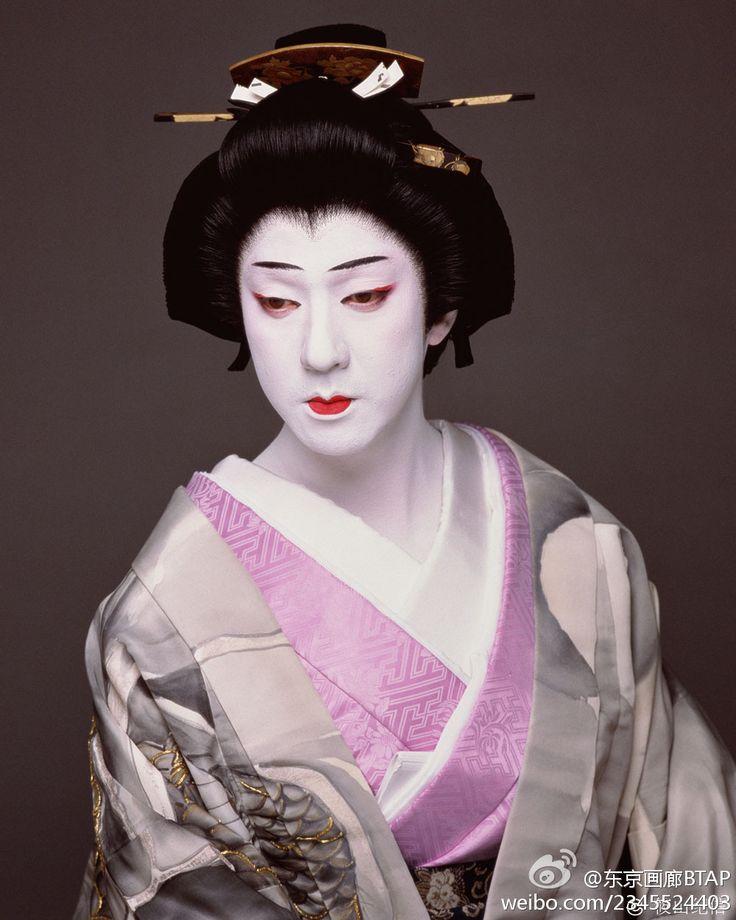 天守物語より富姫。坂東玉三郎 Kabuki Actor Tamasaburo Bando