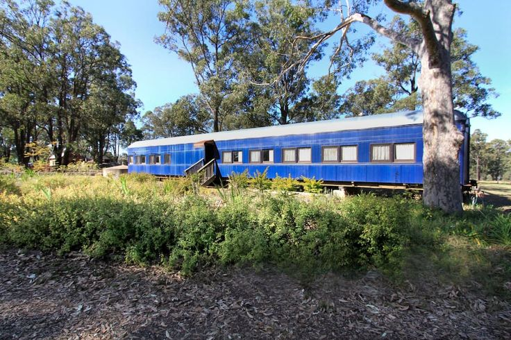 Train carriage accom - Hunter Valley