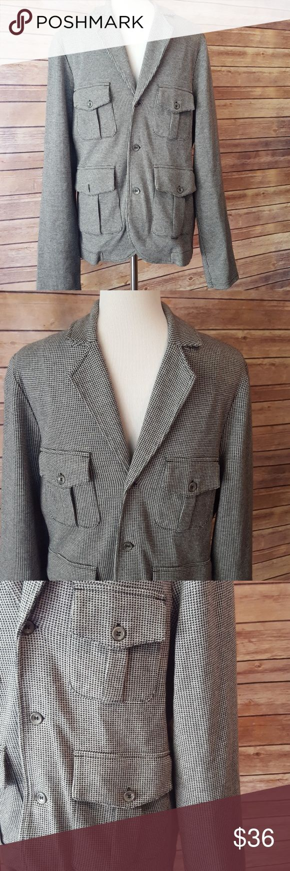 TOPMAN Very Stylish & Comfy Shirt Jacket Very Stylish & Comfy TOPMAN Shirt Jacket, size s. Fits chest measurement 36-38. Cotton/viscose blend, like a very heavy t shirt material. In excellent condition. Topman Jackets & Coats Lightweight & Shirt Jackets