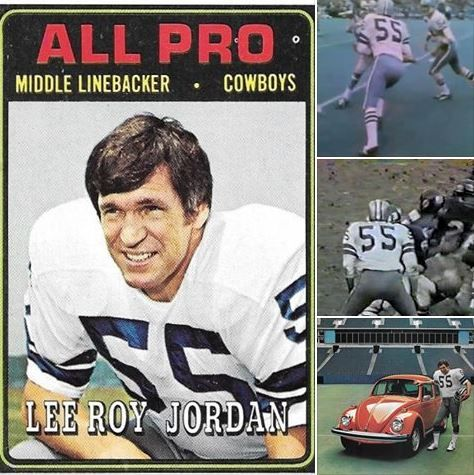 "Happy Birthday to Dallas Cowboys legendary middle linebacker LEE ROY JORDAN (55)!! Ring Of Honor member, played his college ball at Alabama, a Cowboy from 1963-76!! ""Killer""!!"