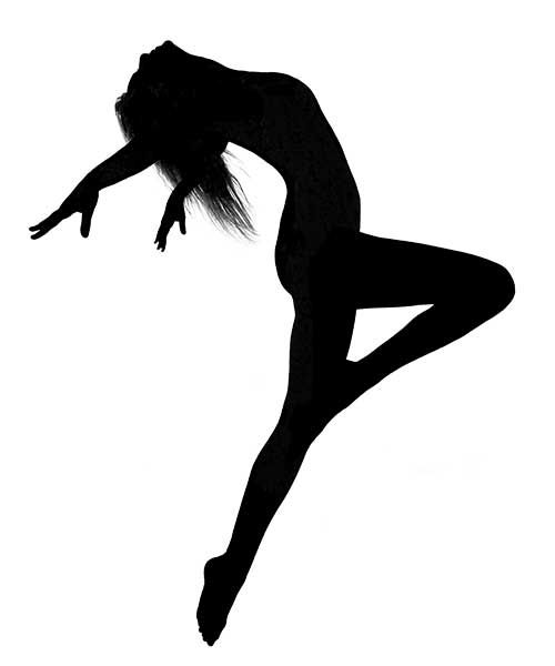 Dancer Jumping Silhouette | Clipart Panda - Free Clipart Images