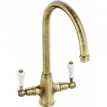 Abode Ludlow Antique Bronze Monobloc Kitchen Sink Mixer Tap AT1028 - Abode from TAPS UK